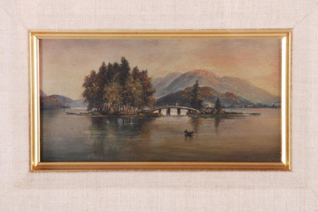 AMERICAN SCHOOL (19th c) Lake George - 3