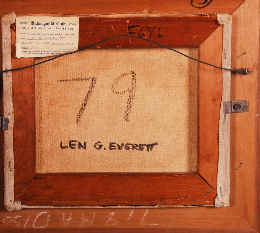 LEN G. EVERETT (1925-1984) - 4