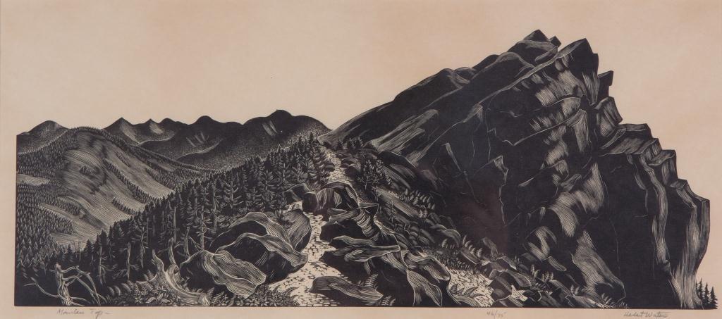 HERBERT OGDEN WATERS (1903-1996)