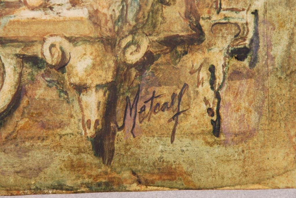 CONGER METCALF(1914-1998) - 2
