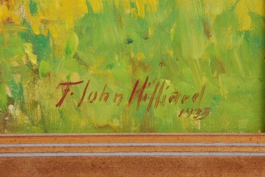 F. JOHN HILLIARD (b. 1886) - 2