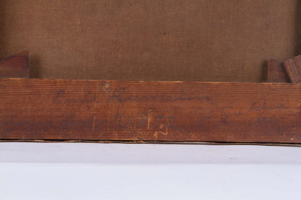 (19th c) PRIMITIVE PORTRAIT OF A TODDLER - 3