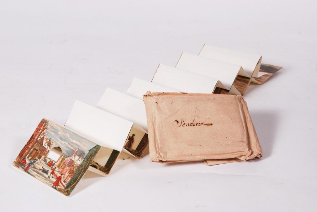 """SENDERIA"" (8) PRINTED PERSPECTIVE CARDS - 6"