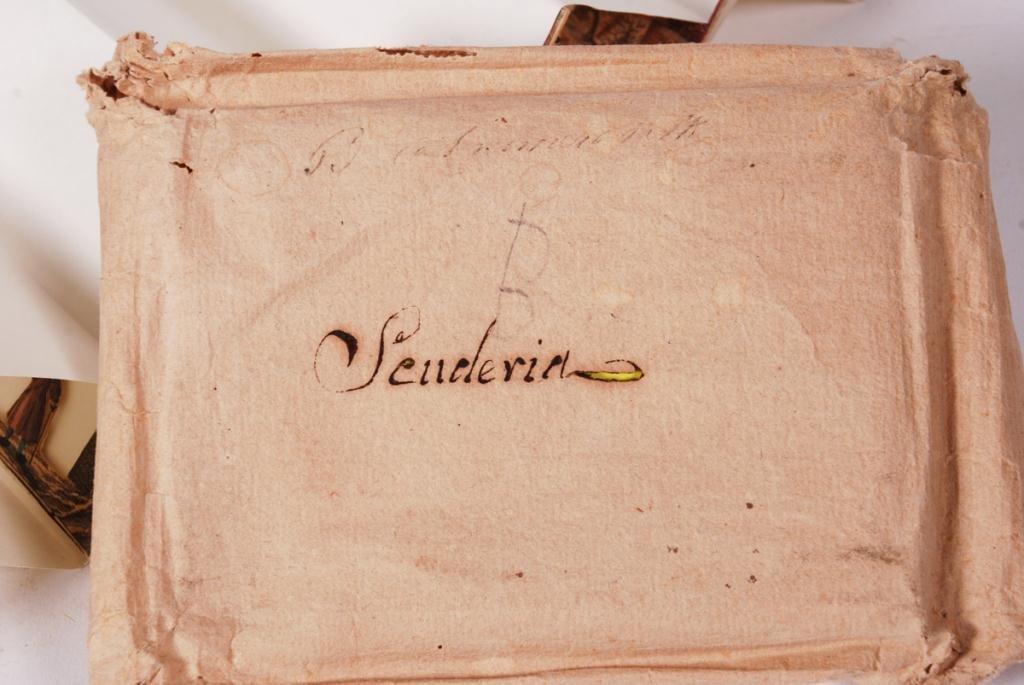 """SENDERIA"" (8) PRINTED PERSPECTIVE CARDS - 7"