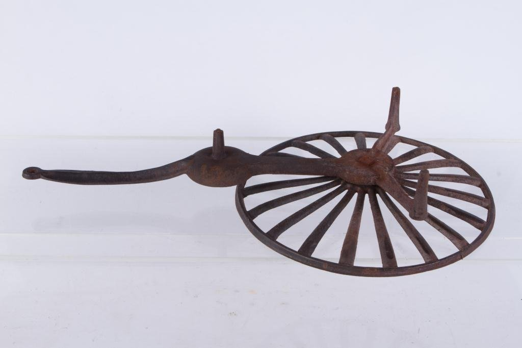 CAST IRON ROTATING GRID IRON WITH FAT COLLECTOR - 4