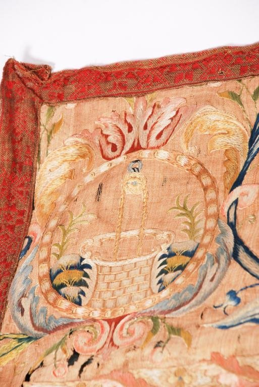 (17th /18th c) EMBROIDERY - 10