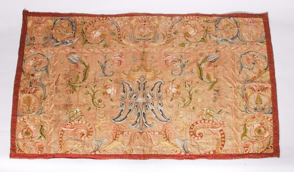 (17th /18th c) EMBROIDERY