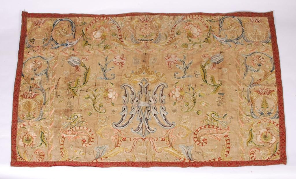 (17th /18th c) EMBROIDERY - 2