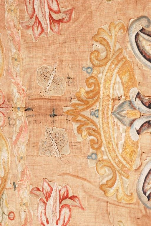 (17th /18th c) EMBROIDERY - 3