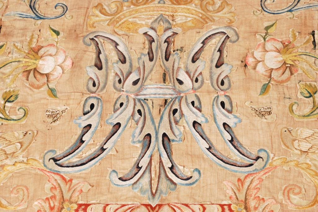 (17th /18th c) EMBROIDERY - 6