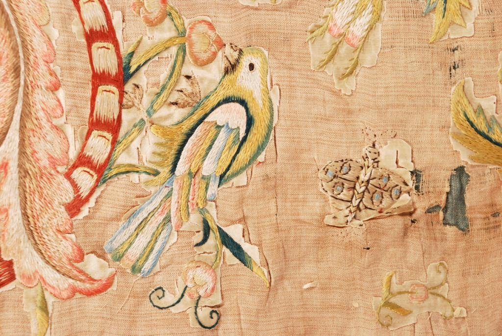 (17th /18th c) EMBROIDERY - 8