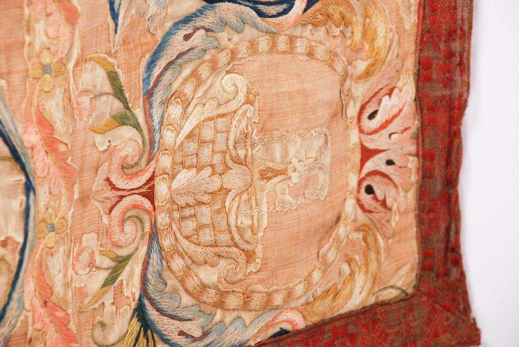 (17th /18th c) EMBROIDERY - 9