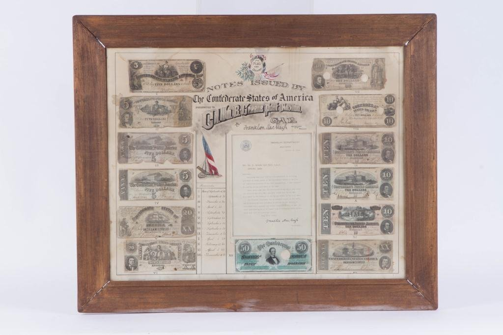 NOTES ISSUED BY THE CONFEDERATE STATES COMPOSITE