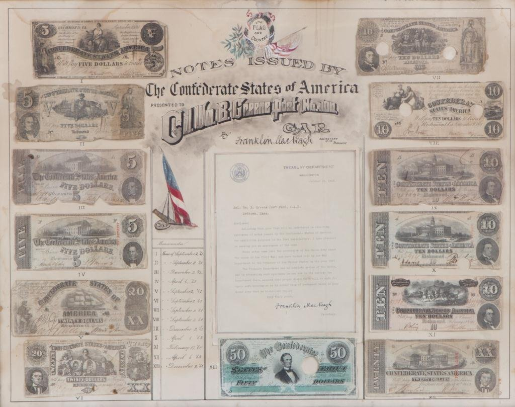 NOTES ISSUED BY THE CONFEDERATE STATES COMPOSITE - 5