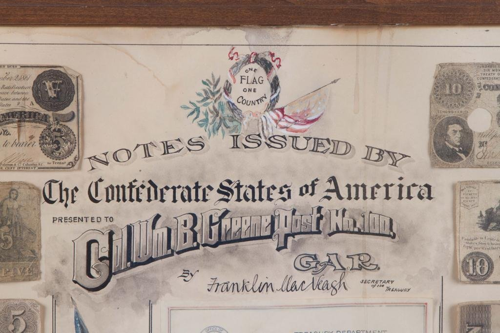 NOTES ISSUED BY THE CONFEDERATE STATES COMPOSITE - 6