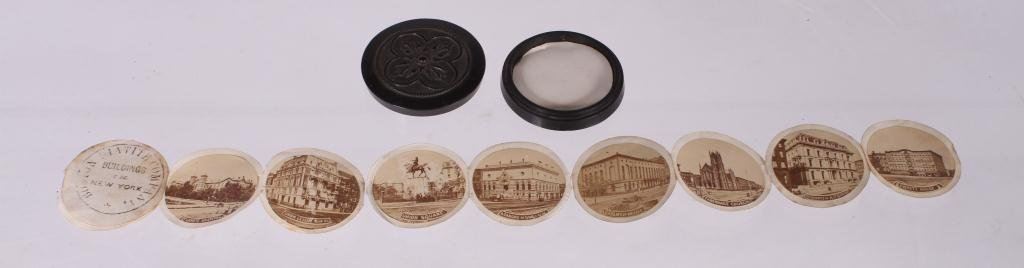 "BOSTON MATITE COMPANY ""BUILDINGS OF NEW YORK 1860s"