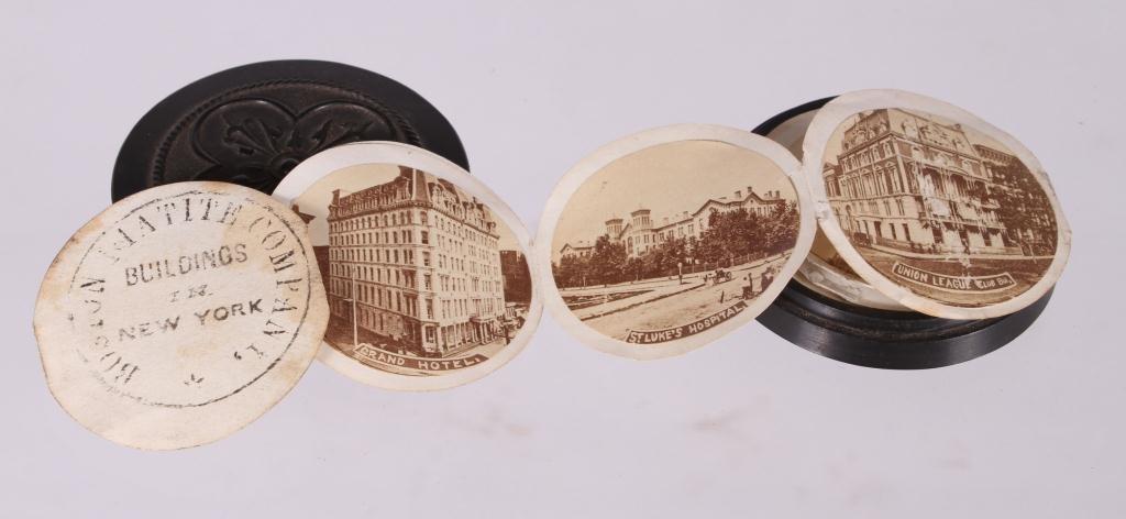 "BOSTON MATITE COMPANY ""BUILDINGS OF NEW YORK 1860s - 2"