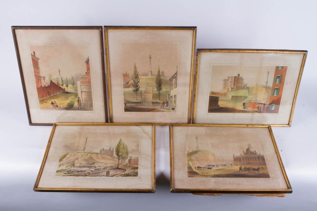 """J. H. Buffords """"Five Old Boston Views"""""""