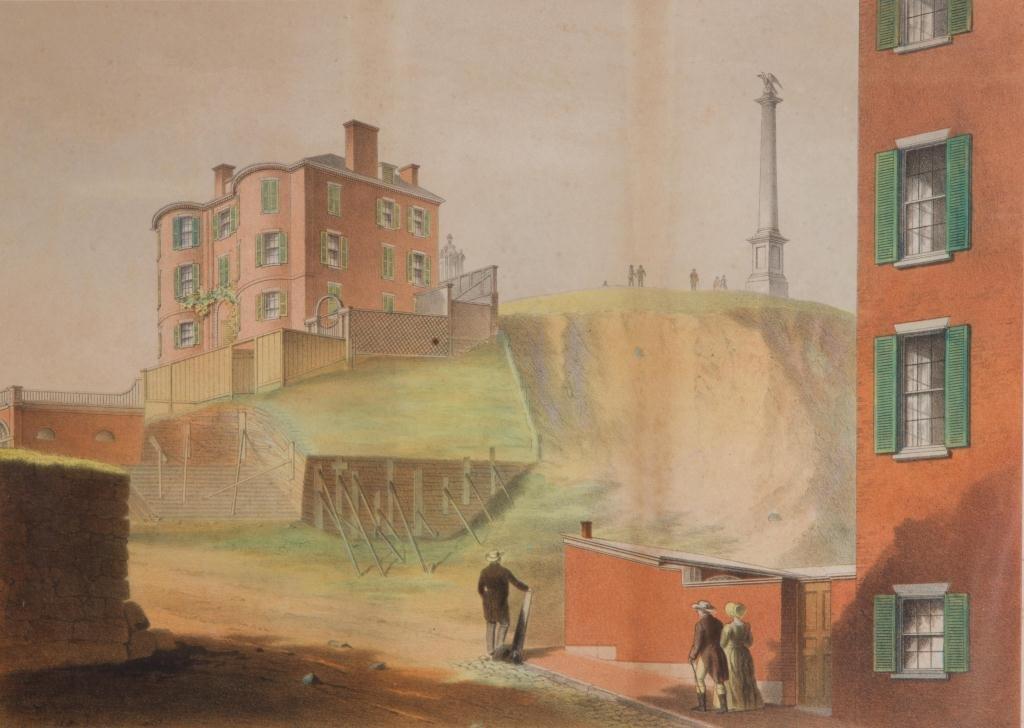 """J. H. Buffords """"Five Old Boston Views"""" - 6"""