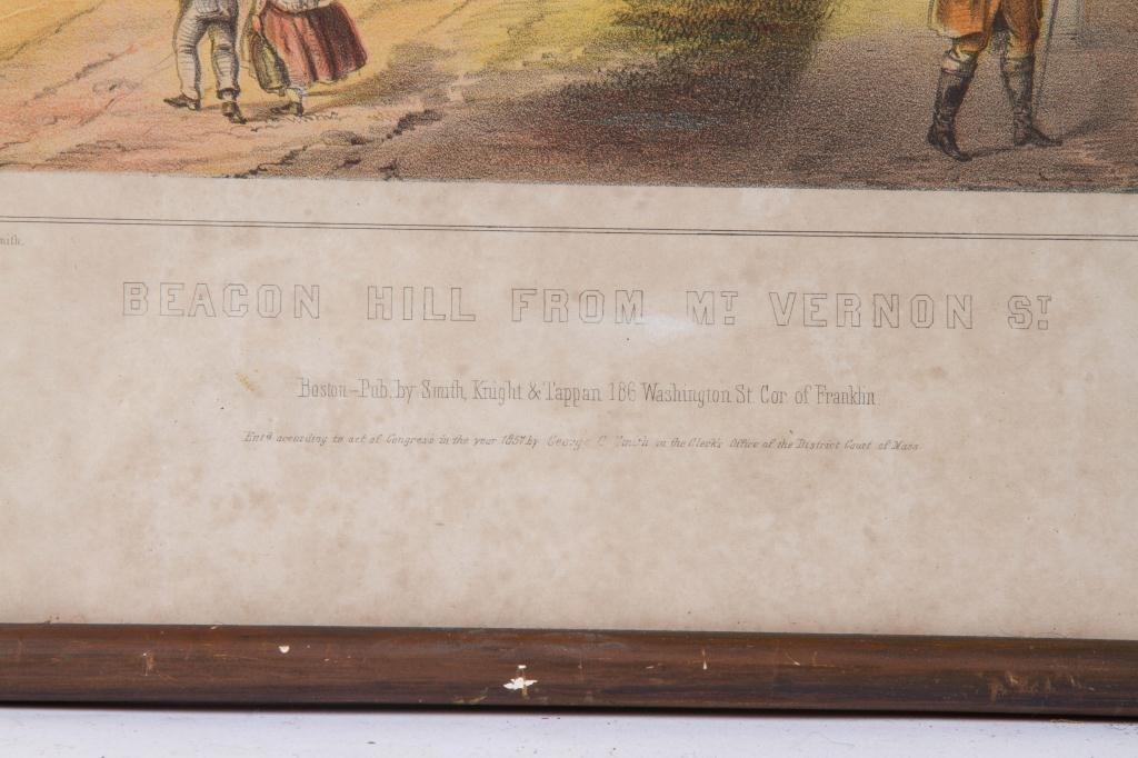 """J. H. Buffords """"Five Old Boston Views"""" - 8"""