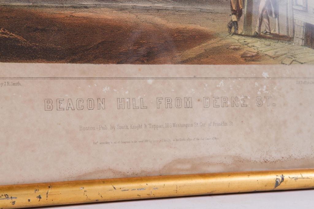 """J. H. Buffords """"Five Old Boston Views"""" - 9"""
