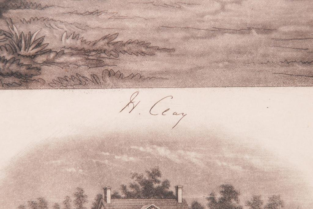 HENRY CLAY STEEL ENGRAVING BY JOHN W. DODGE 1843 - 7
