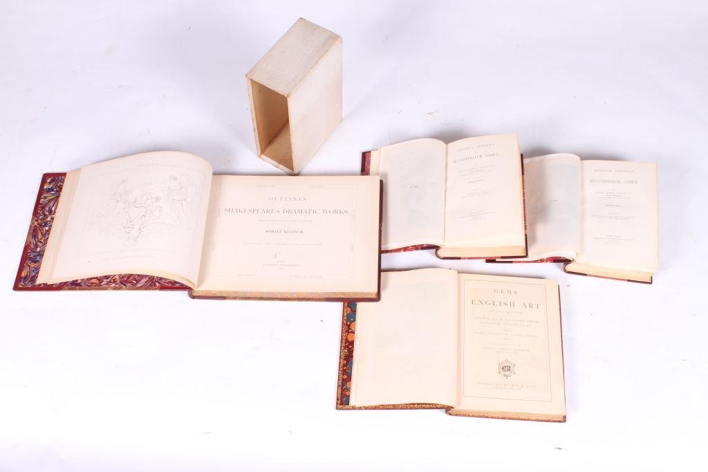 2LEATHER BOUND BOOKS WITH BRITISH SUBJECTS - 10