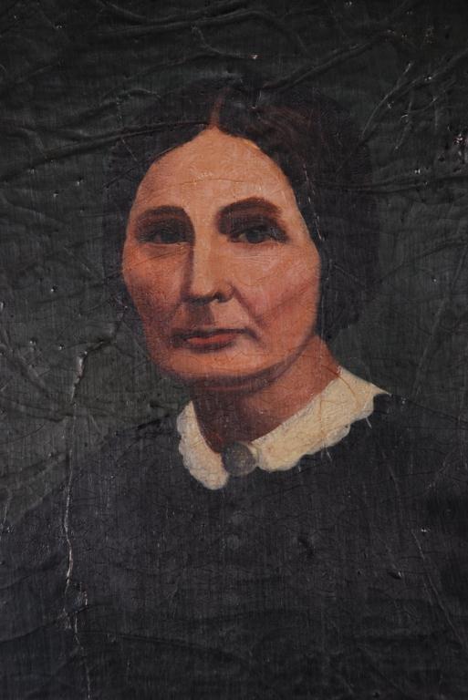 AMERICAN SCHOOL (19th c) Portraits - 4