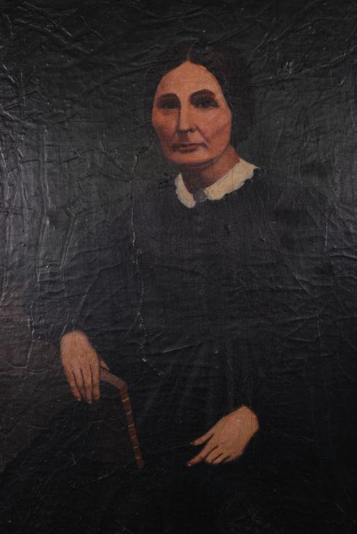 AMERICAN SCHOOL (19th c) Portraits - 5