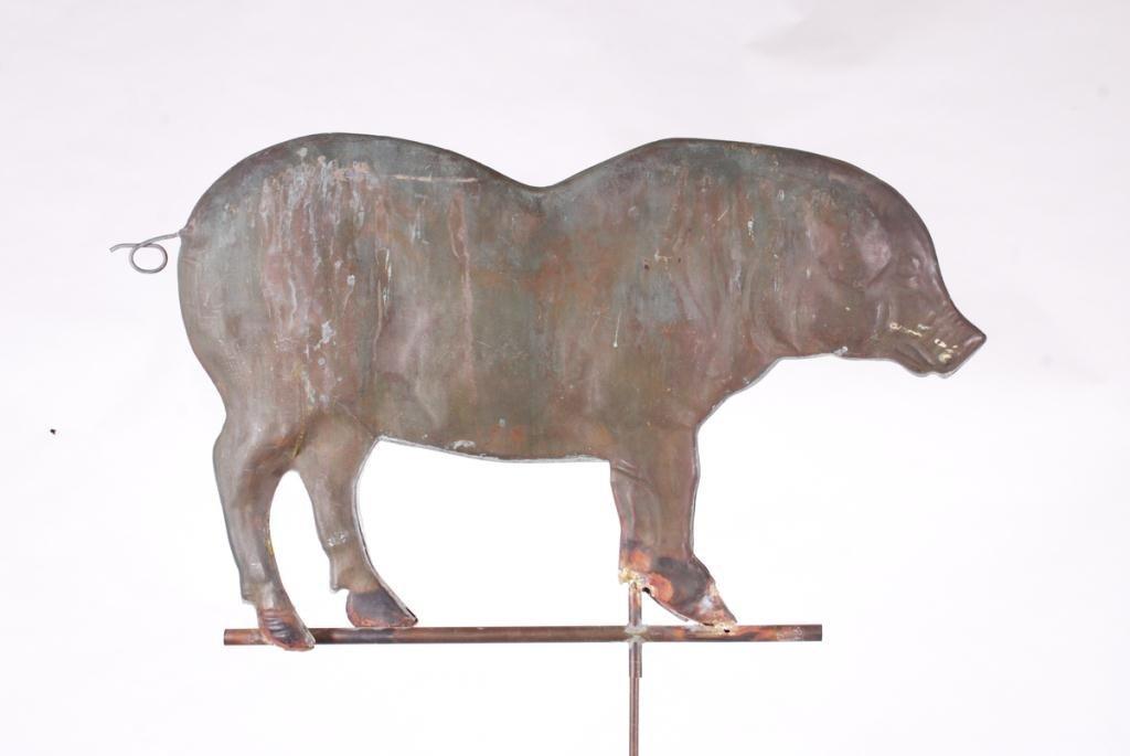 (20th c) PIG WEATHERVANE - 2