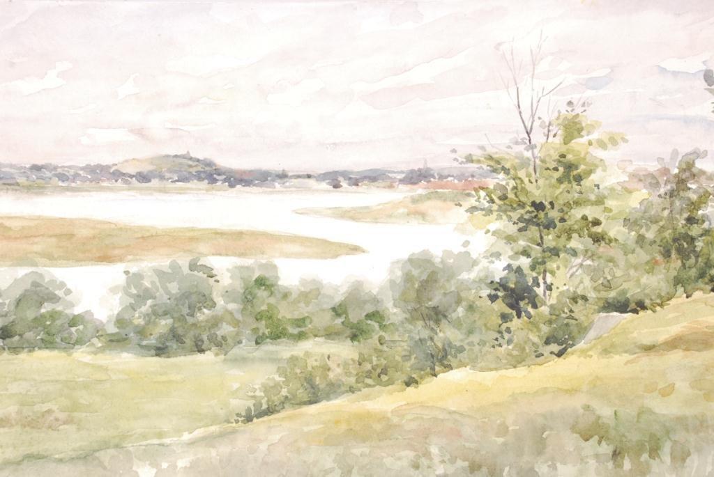 AMERICAN SCHOOL (19th c) Coastal Views - 2