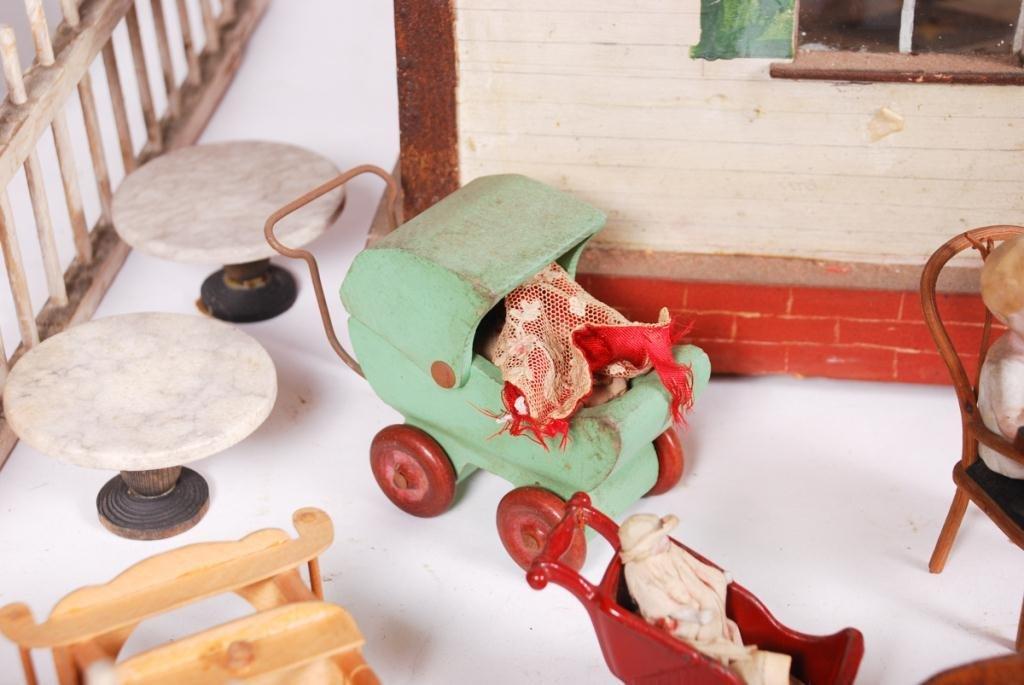 DOROTHY WHITNEY'S DOLLHOUSE LOADED w FURNISHINGS - 2