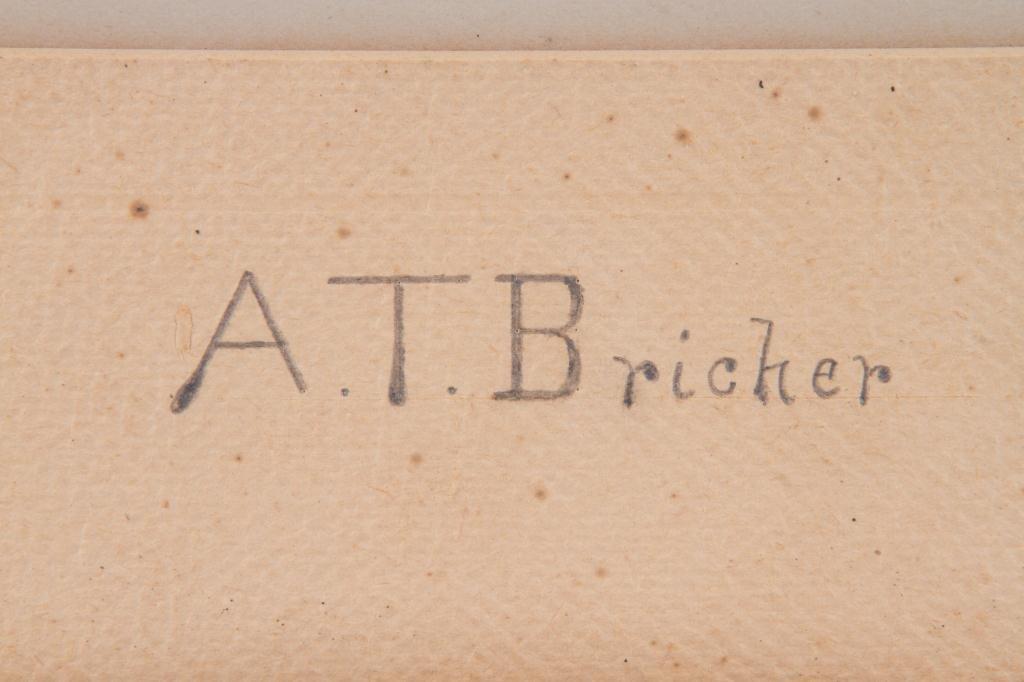 ALFRED T. BRICHER (1837-1908) - 2