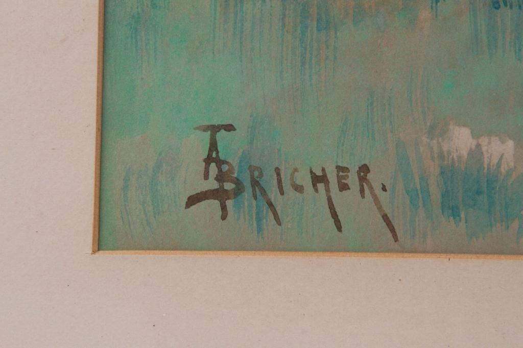 ALFRED T. BRICHER (1837-1908) - 3