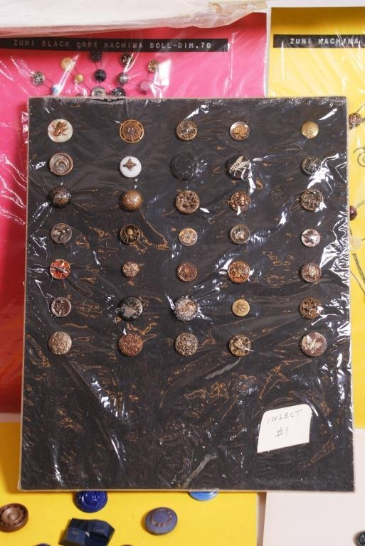EXTENSIVE COLLECTION OF BUTTONS - 2