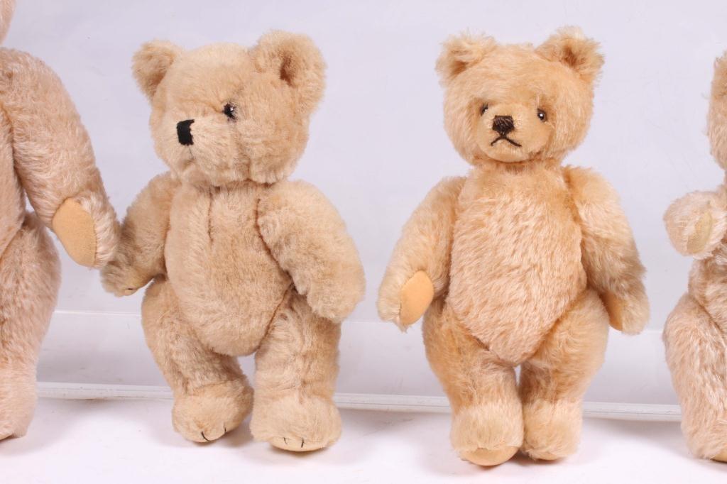 (5) STEIFF ARTICULATED TEDDY BEARS - 7