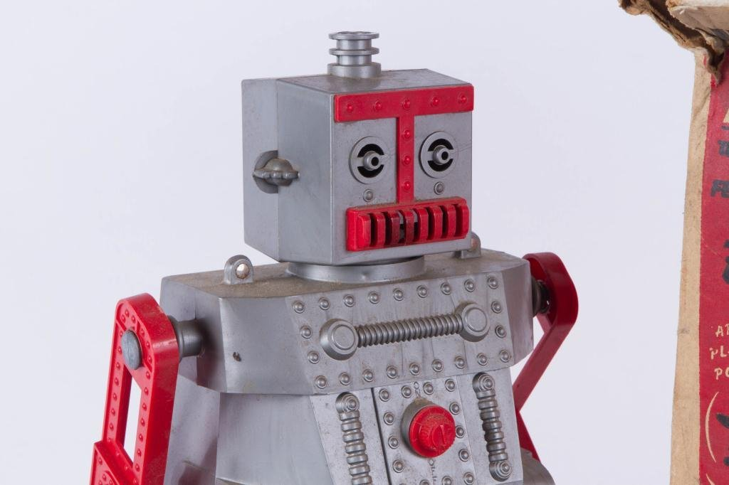 IDEAL'S ROBERT the TALKING ROBOT VINTAGE TOY - 4