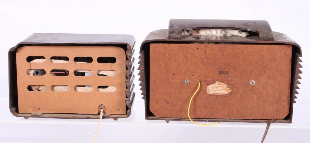 (2) ART DECO BAKELITE RADIOS - 3