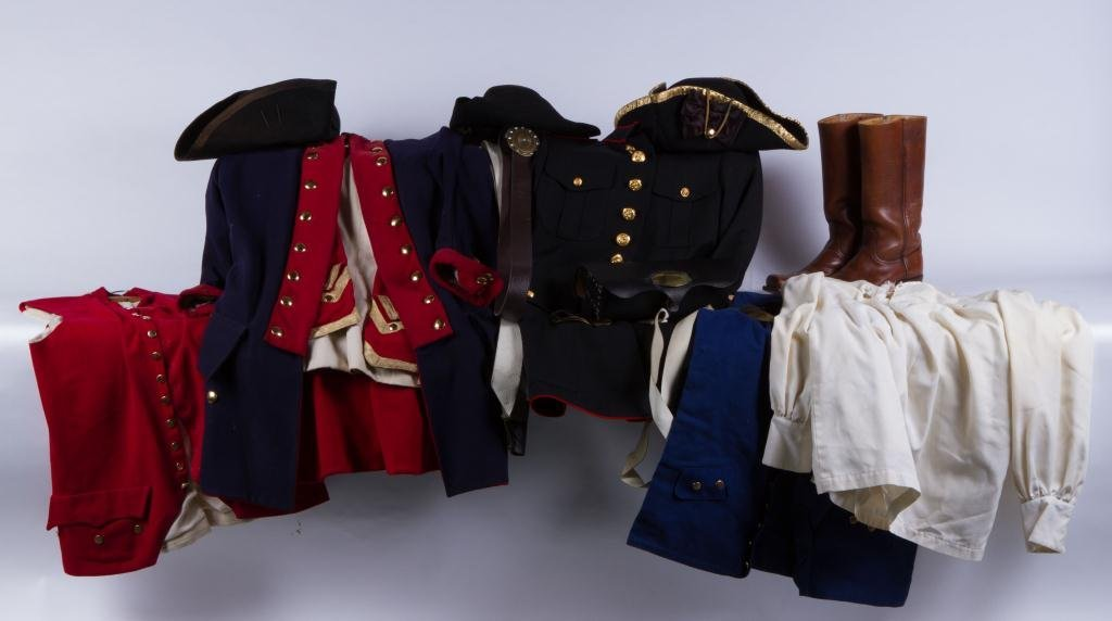 REPRODUCTION REVOLUTIONARY WAR UNIFORM