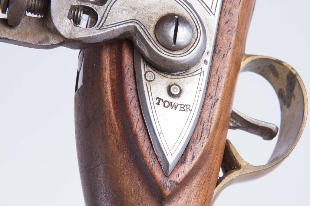 CVA TOWER BLACK POWDER FLINTLOCK PISTOL - 4