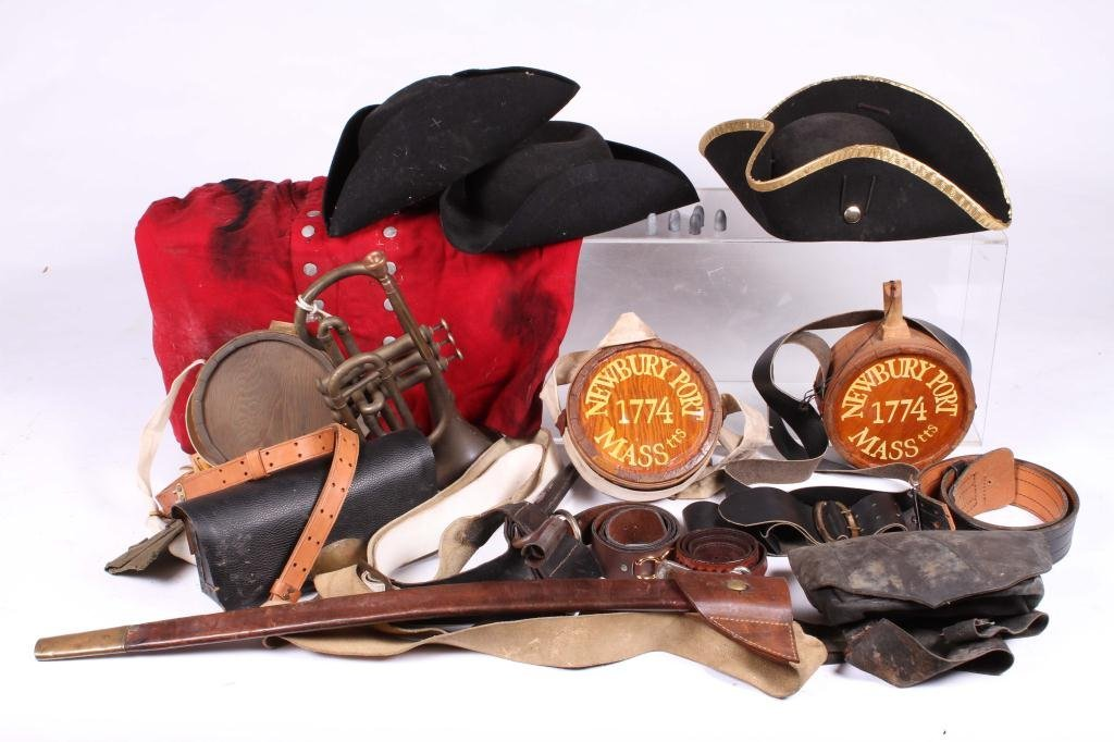 MILITARY REINACTMENT UNIFORM AND ACCESSORIES
