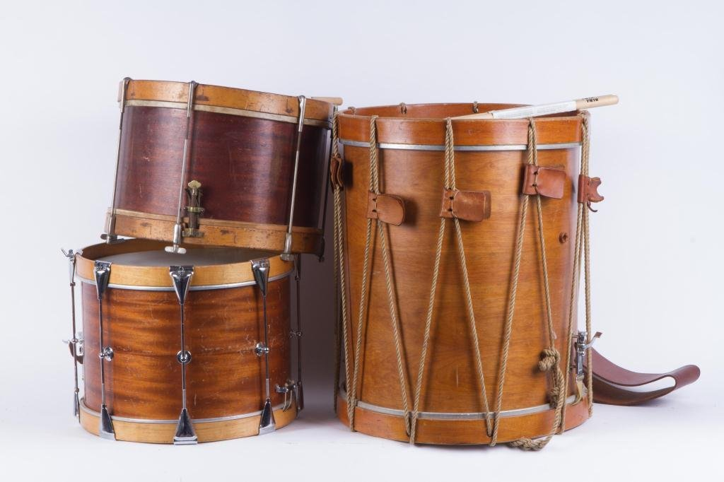 (3) PERCUSSION DRUMS