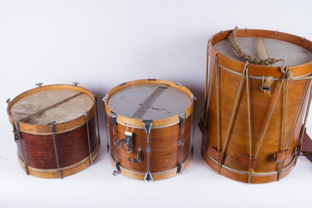 (3) PERCUSSION DRUMS - 2