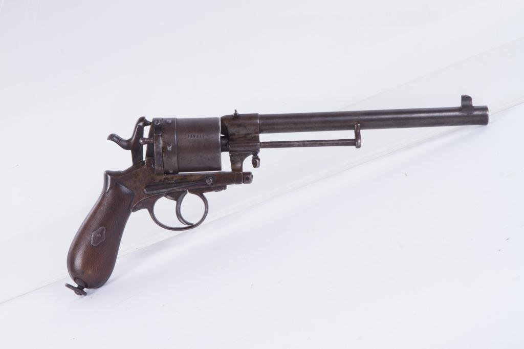 GASSER M1870 REVOLVER AUSTRIA HUNGARY