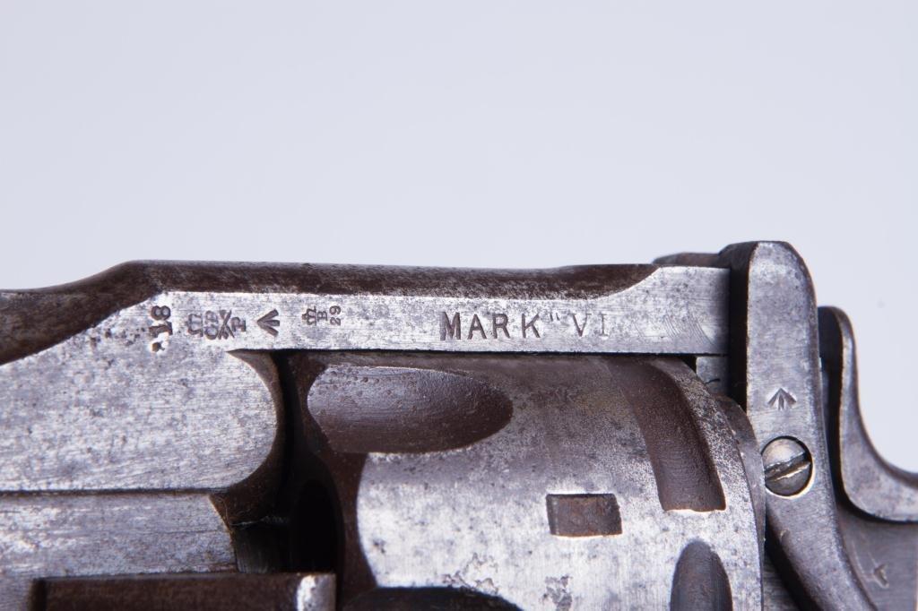 WEBLEY MK5 TOP BREAK REVOLVER - 2