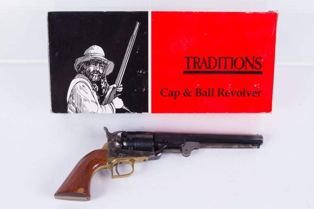 TRADITIONS MFG CO. 1851 COLT NAVY REVOLVER