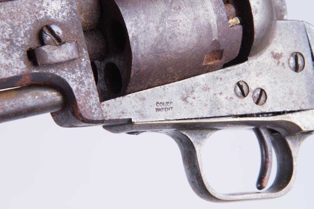 COLT MODEL 1849 PERCUSSION POCKET REVOLVER - 4