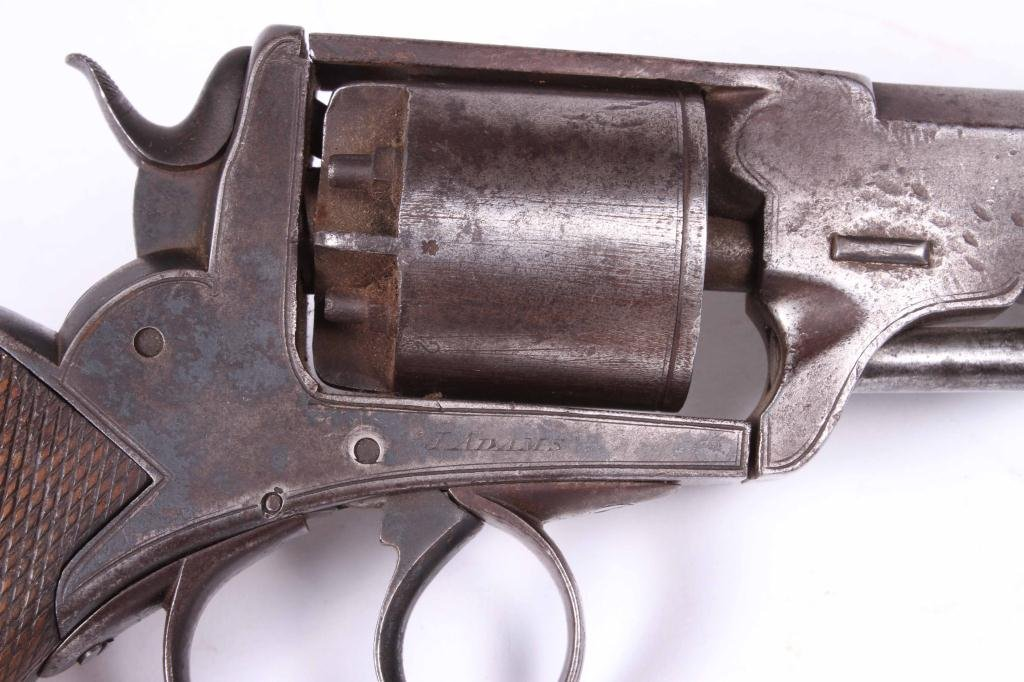 J. ADAMS PERCUSSION CAP REVOLVER LONDON - 3