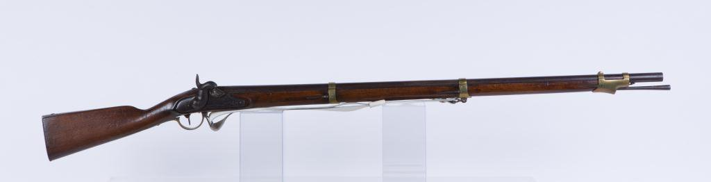 (19th c) PERCUSSION CAP MUSKET