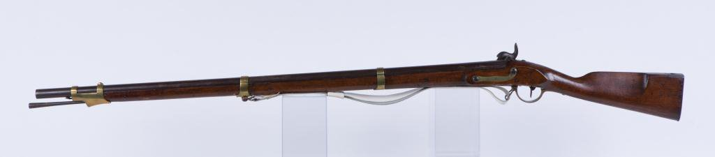 (19th c) PERCUSSION CAP MUSKET - 2